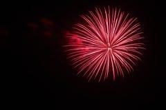 4 juillet célébration de feux d'artifice en Caroline du Nord Photo stock