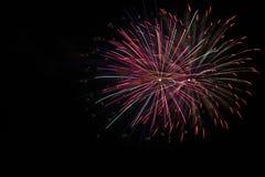 4 juillet célébration de feux d'artifice en Caroline du Nord Photos libres de droits