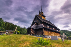 18 juillet 2015 : Eidsborg Stave Church, Norvège Image stock
