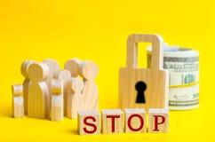 30 juillet - jour du monde contre le trafic des êtres humains L'humain n'est pas un produit Arrêtez la pédophilie Esclavage de co photos stock