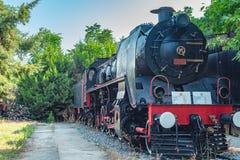 12 juillet 2018 la Turquie Kusadasi Musée des trains photo libre de droits