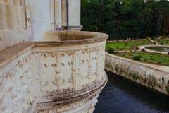 23 juillet 2017 le château de Chenonceau france La façade du château médiéval des dames Le château médiéval royal de Chenonce Image stock