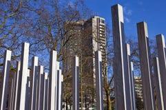 7 juillet mémorial en Hyde Park Images libres de droits