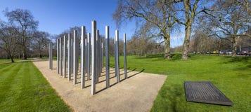 7 juillet mémorial en Hyde Park Images stock