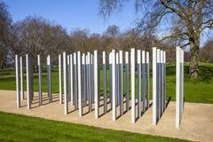 7 juillet mémorial en Hyde Park Image stock