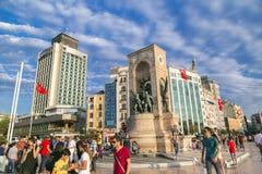 15 juillet protestations de tentative de coup à Istanbul Photos libres de droits