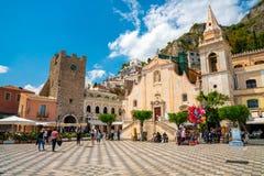 4 juillet 2018 Taormina, Italie photo stock