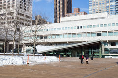 Juilliard School NYC Stock Image