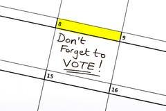 8 juin élection générale Photos stock