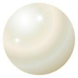Juin Birthstone - perle Photographie stock libre de droits
