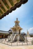 23 juin 2017 la pagoda en pierre Dabotap au temple de Bulguksa dans Gyeo Images stock