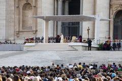 14 juin 2015 Le congrès d'Ecclesial du diocèse de Rome Photographie stock libre de droits