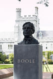 6 juin 2017, liège, Irlande - Cork College University, buste de George Boole Photos libres de droits