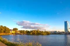24 juin 2015 : Nemiga, Belarus Minsk Photos stock