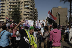 30 juin protestations contre Morsi et musulmans Brotherhoo Photographie stock libre de droits