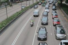 15 juin 2014 route Hong Kong de Gloucester photographie stock