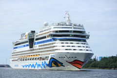 22 juin 2014 Velsen ; les Pays-Bas : Aida Stella sur le nord S Photo libre de droits