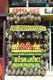 Juise stall. A fruit juice stall at kullu manali in india Royalty Free Stock Photos