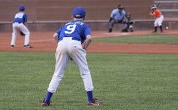 Juist Fielder Gets Set voor een Spel Royalty-vrije Stock Foto