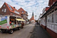 Juist, Frisian-Eiland Royalty-vrije Stock Foto's