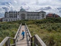 Juist, ilha do Frisian Fotografia de Stock Royalty Free
