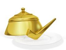Juist Recept het Koken Concept Stock Fotografie