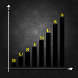 Bedrijfseconomie en besluit die - maken Royalty-vrije Stock Afbeeldingen