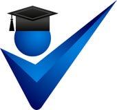 Juiste graduatie vector illustratie