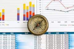 Juiste richting van uw zaken Stock Afbeeldingen