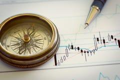 Juiste richting van uw zaken Stock Fotografie