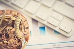 Juiste richting van uw zaken Stock Afbeelding