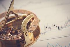 Juiste richting van uw zaken royalty-vrije stock afbeelding