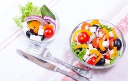 Juisygroenten in salade Royalty-vrije Stock Afbeelding