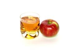 Juive und Apfel Stockfotos
