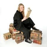 Juiz bonito dos jovens imagens de stock royalty free