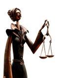 Juiz cego Fotografia de Stock