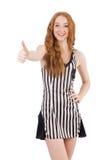 Juiz da mulher isolado Imagem de Stock Royalty Free
