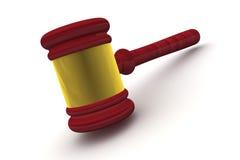 Juiz Gavel Standing Imagens de Stock