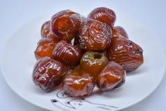 Jujube ή πιθήκων μήλο, ασιατικά φρούτα Στοκ εικόνα με δικαίωμα ελεύθερης χρήσης