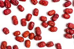 Jujube, китаец высушил красный плодоовощ даты Стоковая Фотография RF