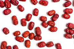 Jujube, Chinese dried red date fruit Royalty Free Stock Photography