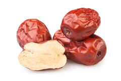 Jujube cut group Royalty Free Stock Image