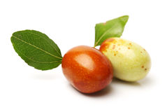 Jujube fruit Stock Image