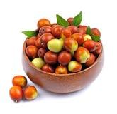 Jujube fruits Stock Photos