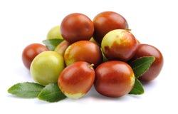 Jujube fruits closeup.