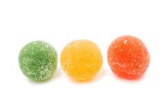 Jujube gekleurde ballen, Royalty-vrije Stock Foto's