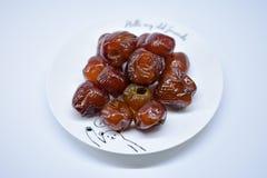 Jujube- oder Affeapfel, asiatische Frucht Lizenzfreie Stockfotos