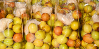 Jujube in the plastic bag Royalty Free Stock Photography