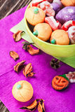 Jujube and pumpkin souffle Royalty Free Stock Image