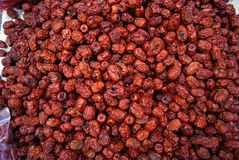 Jujube rouge Images stock